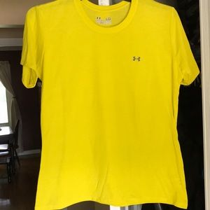 Yellow Under Armour T-shirt